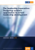 The leadership imperative: Designing systemic approaches to school  leadership development